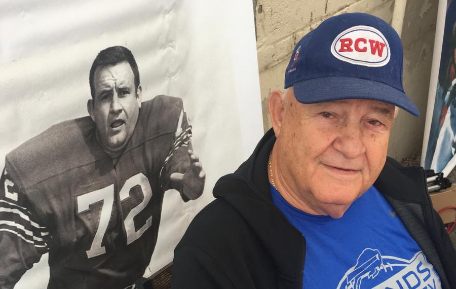 Ron McDole spent eight seasons with the Buffalo Bills. (Photo courtesy of Erik Brady)