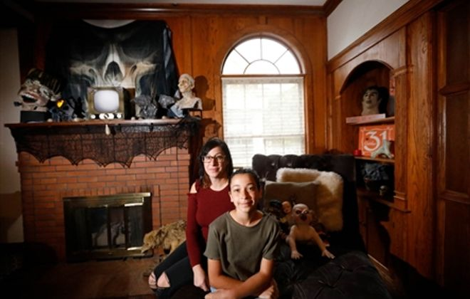 October Home of the Month: Halloween house