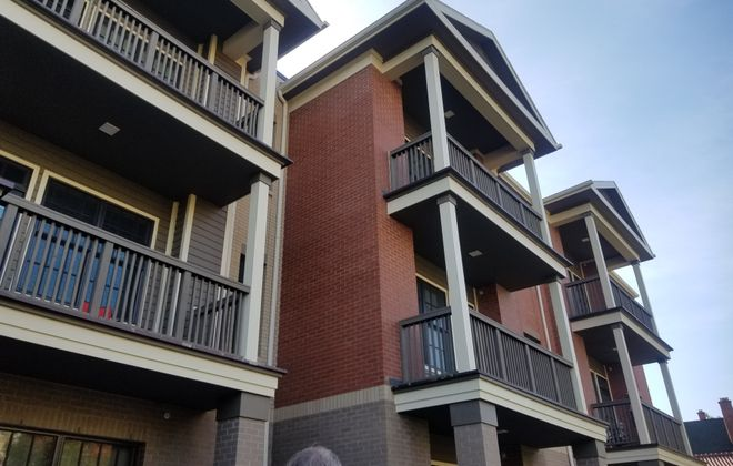 People Inc. opened its apartment building at 637 Linwood Ave., near Gates Circle.