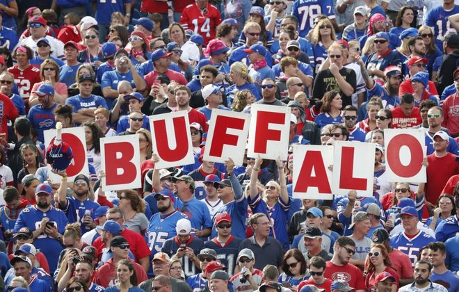 The Bills take on the Dolphins at 1 p.m. Nov. 17. (Harry Scull Jr./News file photo)
