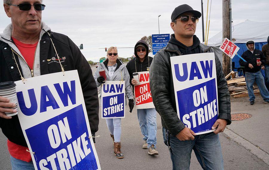 The five-week strike at General Motors cut into job growth across the Buffalo Niagara region during October. (Derek Gee/News file photo)