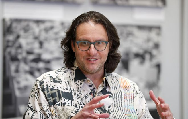 Brad Feld, co-founder of Techstars, sees more startup activity in the Buffalo Niagara region. (Mark Mulville/Buffalo News)