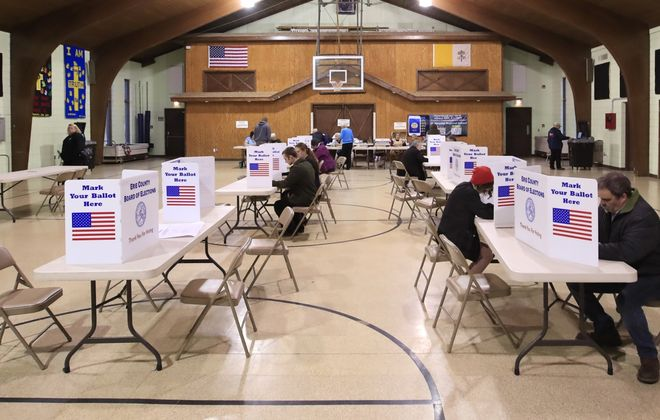 The Buffalo School Board election will be held on election day in November, under a bill signed into law Monday.  (Harry Scull Jr./News file photo)