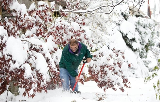 First major snowstorm of the season blankets Western New York