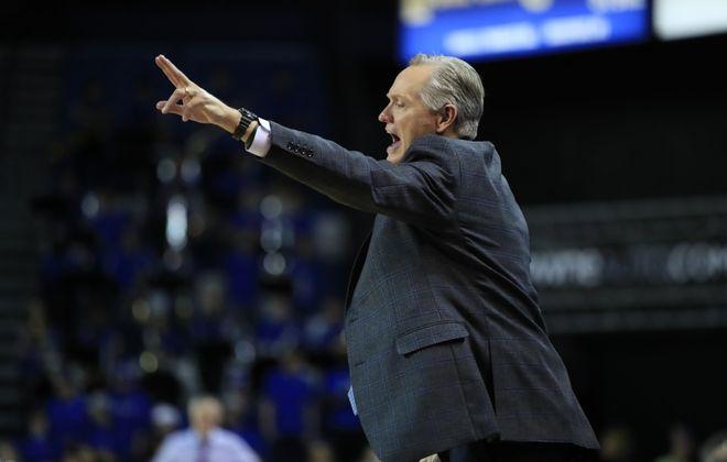 University at Buffalo head coach Jim Whitesell. (Harry Scull Jr./Buffalo News)