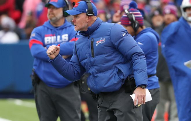 Bills coach Sean McDermott. (James P. McCoy/News file photo)
