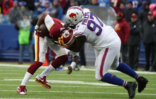 Defensive tackle Jordan Phillip. (James P. McCoy/Buffalo News)