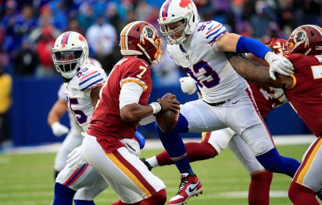 Buffalo Bills defensive end Trent Murphy. (Harry Scull Jr./Buffalo News)