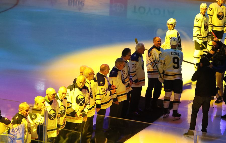 Sabres legends Rene Robert and Danny Gare feel team is finally on the right path