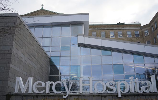 Mercy Hospital of Buffalo plans to renovate its emergency room to re-imagine the flow of patients and provide for more efficiency. (Derek Gee/Buffalo News)