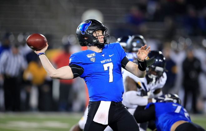 UB quarterback Kyle Vantrease. (Harry Scull Jr./News file photo)