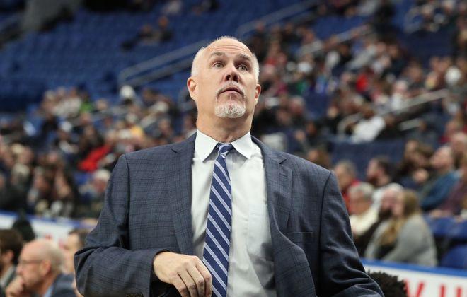 St. Bonaventure Bonnies head coach Mark Schmidt.  (James P. McCoy/Buffalo News file photo)