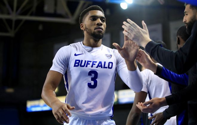University at Buffalo player Jayvon Graves Jayvon Graves was named to the All-MAC first team. (Harry Scull Jr./News file photo)