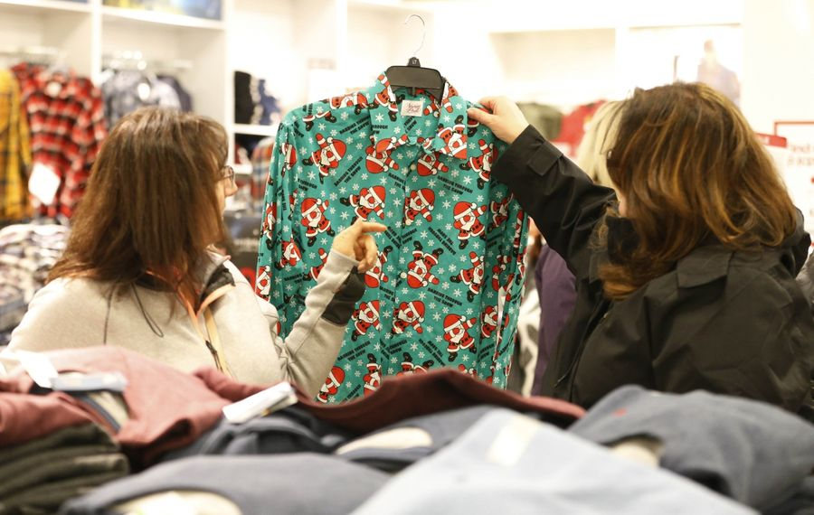 Most Black Friday shoppers were delightful. Some were not. (Sharon Cantillon/Buffalo News)