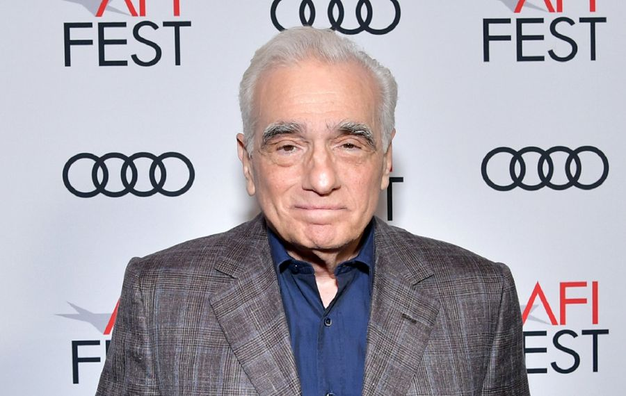 """Jeff Simon writes of Martin Scorsese, """"he is a vigorous 77 and everywhere he goes, he trails the reverence of the movie world behind him."""" (Emma McIntyre/Getty Images for AFI)"""