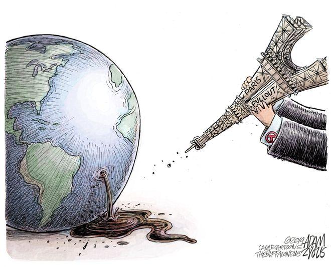 Paris agreement: November 9, 2019
