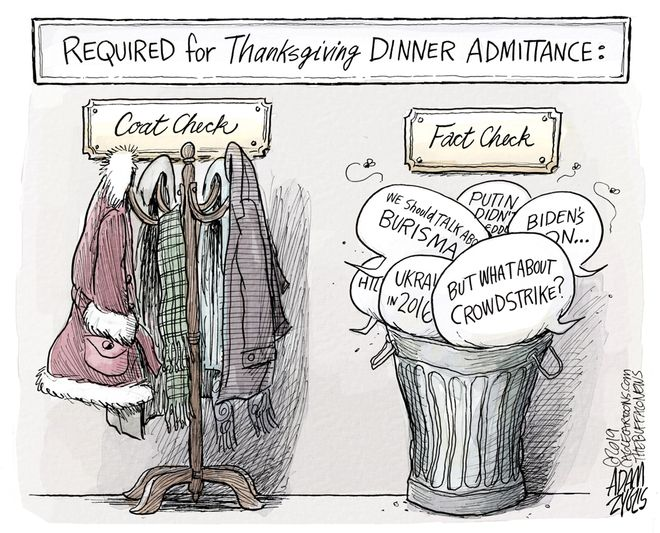Thanksgiving dinner: November 28, 2019