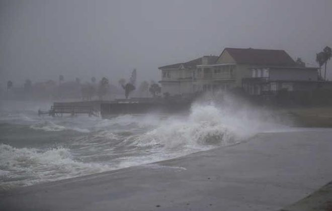 Hurricane Harvey devastated the Houston area in 2017, hanging on for four days and dumping more than 40 inches of rain. (Getty Images)