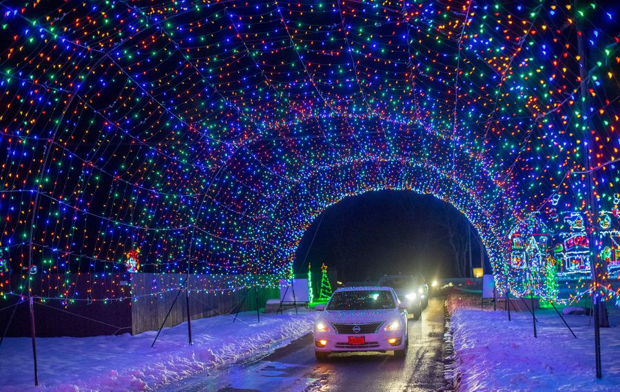 The Festival of Lights runs from select dates until December 23rd. (Courtesy of The Fairgrounds)