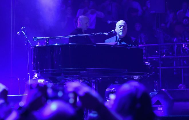 Billy Joel at Madison Square Garden in 2017. He'll return to Buffalo for the first time in a decade in August of 2020. (Getty Images)