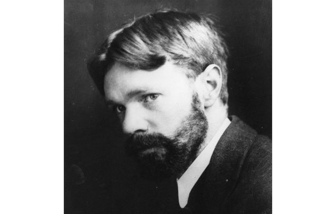 British novelist, poet and essayist D. H. Lawrence (1885-1930). (Hulton Archive/Getty Images)