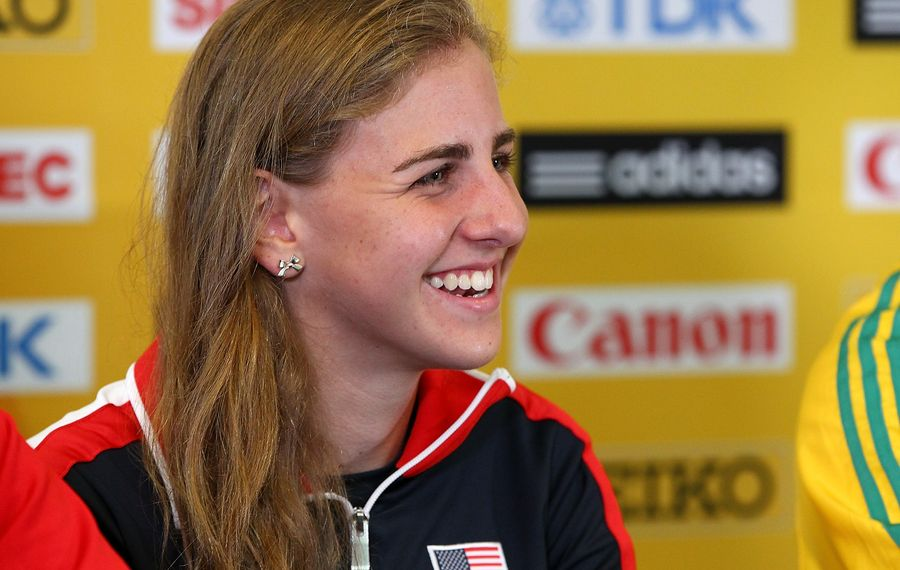 Mary Cain recently shined a light on challenges female runners face with weight. (Getty Images)