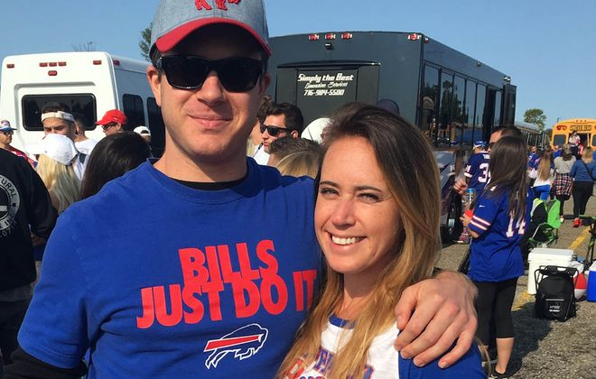 Keri Fisher and her boyfriend, Kevin Armbrust. (Photo courtesy Keri Fisher)