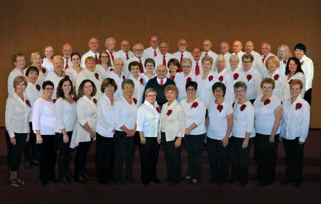 Lewiston Choraleers will be in fine voice for four holiday concerts at various local venues.