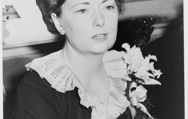 Margaret Mitchell in 1941. (Photo for New York World Telegram & Sun by staff photographer Al Aumuller)