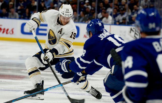 Defenseman Jake McCabe was the Sabres' player representative to the NHLPA Executive Board (Robert Kirkham/News file photo).