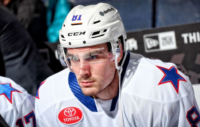Brett Murray is making an impact since joining the Amerks (Micheline Veluvolu/Rochester Americans)