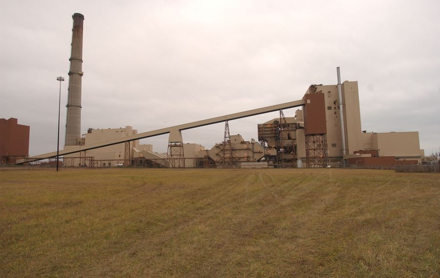The Somerset Operating Co. power plant was originally built by New York State Electric & Gas Corp. in 1979. (Buffalo News file photo)