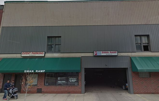 The Swan Ramp, built in 1923, is on the list for possible demolition. (Google)
