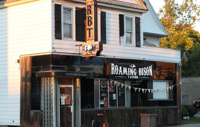 Roaming Bison Tavern, at 732 Hertel Ave., will reopen after a flood cost them more than three months of business. (Sharon Cantillon/News file photo)