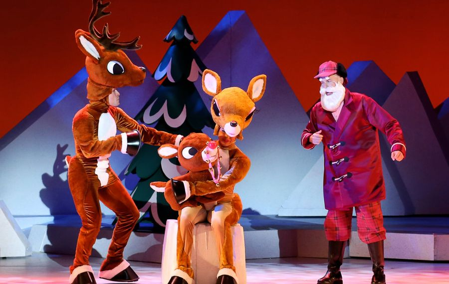"""A stage production of """"Rudolph the Red-Nosed Reindeer"""" will be at Shea's Buffalo Theatre from Dec. 20 to 22. (Courtesy Character Arts)"""