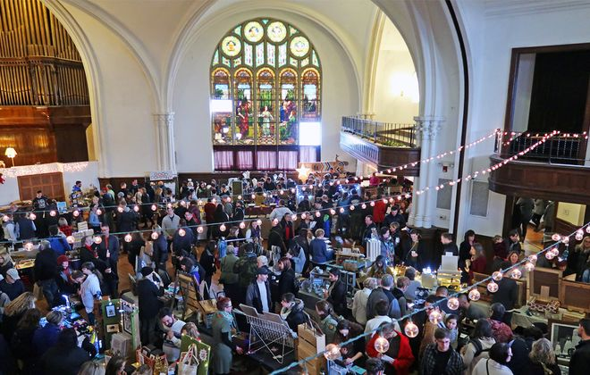 A vast variety of local wares are slated to fill the Karpeles Manuscript Library for the 2019 Queen City Market on Saturday, Dec. 7. (Pat Sandora-Nastyn)