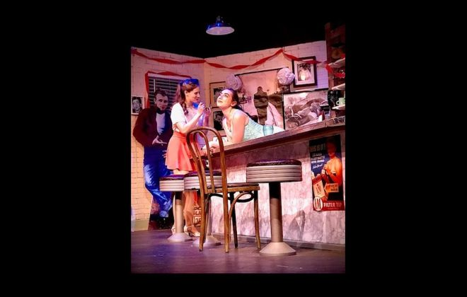 """Jamie Nablo and Jessie Miller are part of a stellar cast in """"Come Back to the Five & Dime, Jimmy Dean, Jimmy Dean"""" at New Phoenix Theatre."""