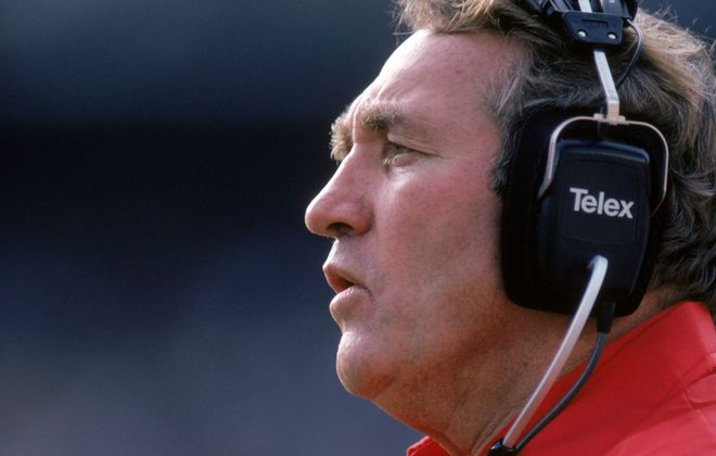 Hank Bullough was the Bills' head coach in 1985 and '86. (George Rose/Getty Images)