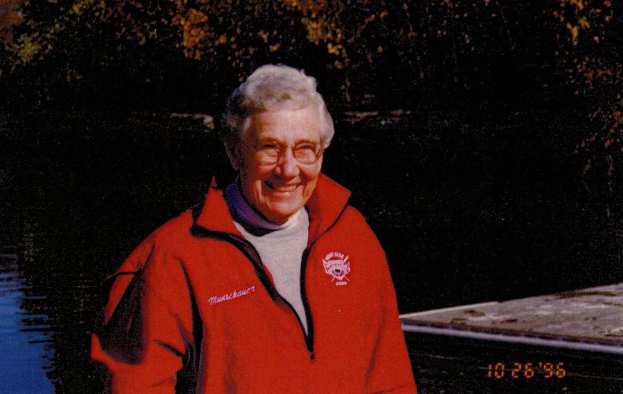 """Sarah """"Sally"""" Munschauer, 96, medal-winning master rower"""