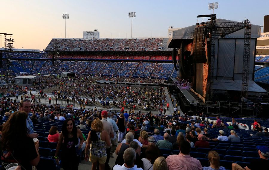 "Jeff Miers believes it is ""highly unlikely"" New Era Field would become a full-time concert venue if the Bills were to get a new stadium, writing, ""There just aren't enough acts out there in the present day capable of filling the place at the price points the admittedly artificially inflated market demands."" (Harry Scull Jr./News file photo)"