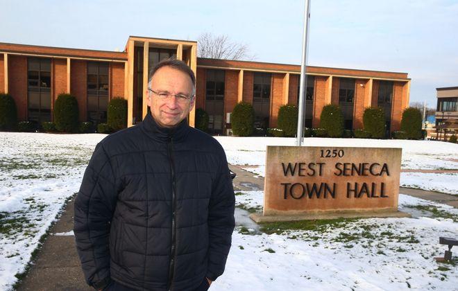 West Seneca's new supervisor, Gary Dickson, has inherited a budgetary mess. (John Hickey/Buffalo News)