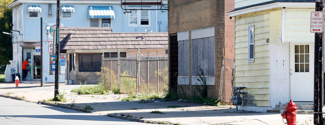 South Domedion Avenue, found in Buffalo between Schiller Park and Kenfield. (Sharon Cantillon/News file photo)