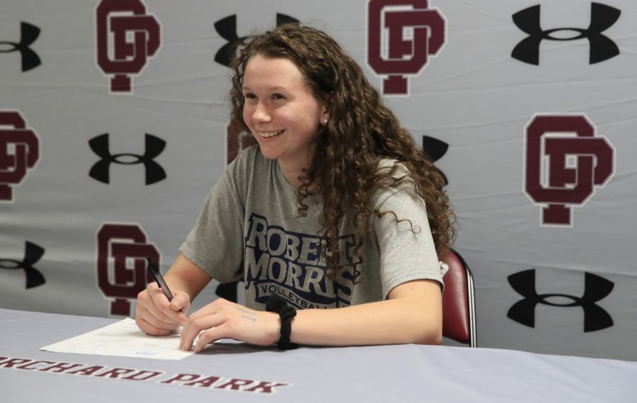 Orchard Park's Abby Ryan. (Harry Scull Jr./News file photo)