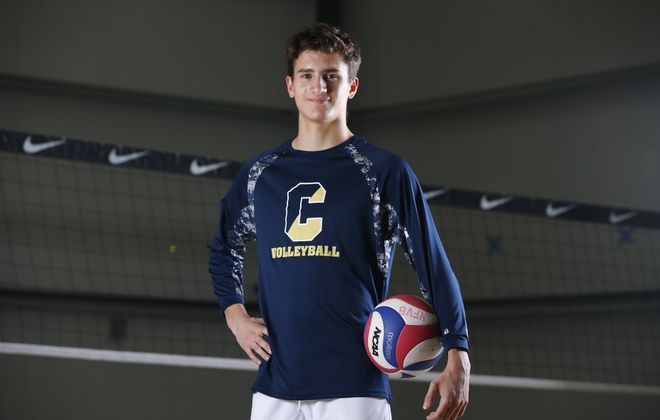 All-Catholic player of the year Ethan Weislo, Canisius High School. (Harry Scull Jr./Buffalo News)