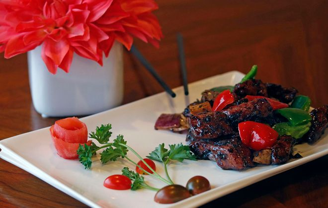 Millennium steak at Miss Hot Cafe. (Robert Kirkham/Buffalo News)