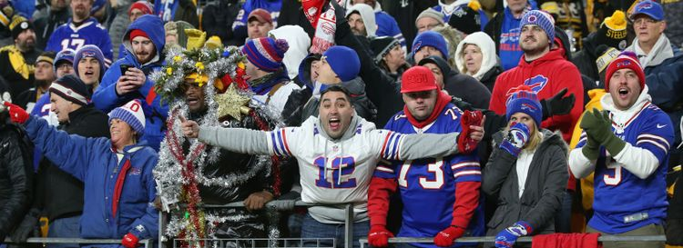 Bills fans will likely make the trip to Houston for the playoffs. (James P. McCoy/News file photo)