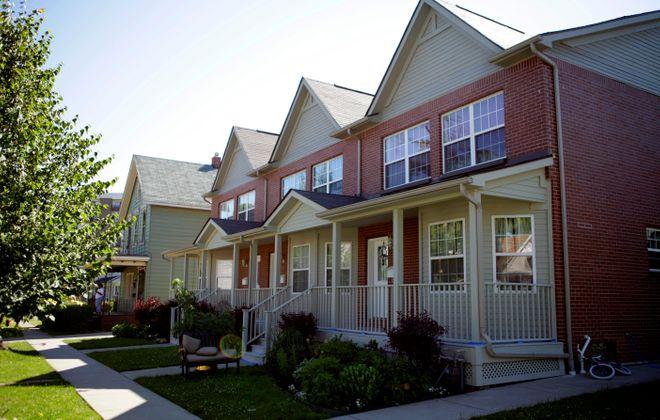 Sharply rising property values near the burgeoning Buffalo Niagara Medical Campus cause concerns for residents of the Fruit Belt. (Buffalo News file photo)