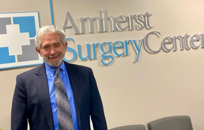 WNY Medical Management CEO C. Anthony Lyons said planning for the new Amherst Surgery Center on Sheridan Drive started five years ago. (Photo provided by WNY Medical Management)