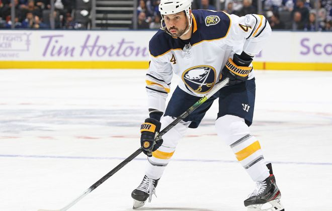Zach Bogosian has two assists in 10 games for the Sabres this season (Getty Images).