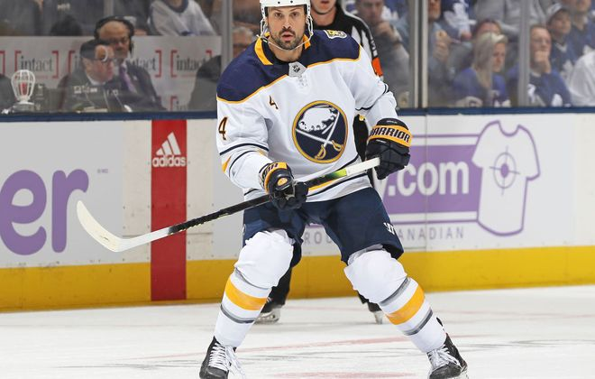 Zach Bogosian has two assists in 10 games this season (Getty Images).